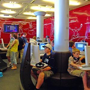 Интернет-кафе Кильдинстроя